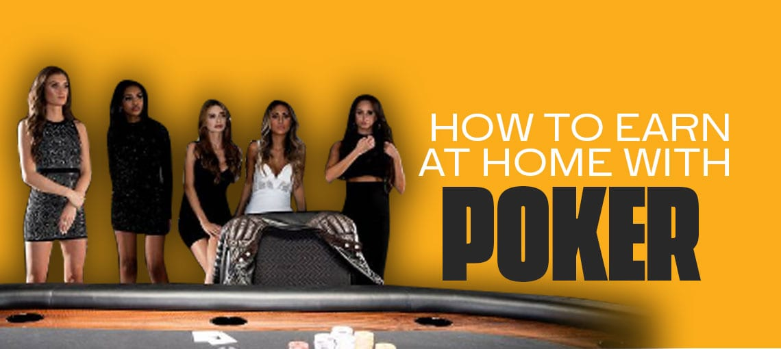 Playing poker online is not just fun and is a way of earning at home