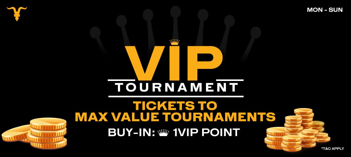 VIP Tournaments | BLITZPOKER