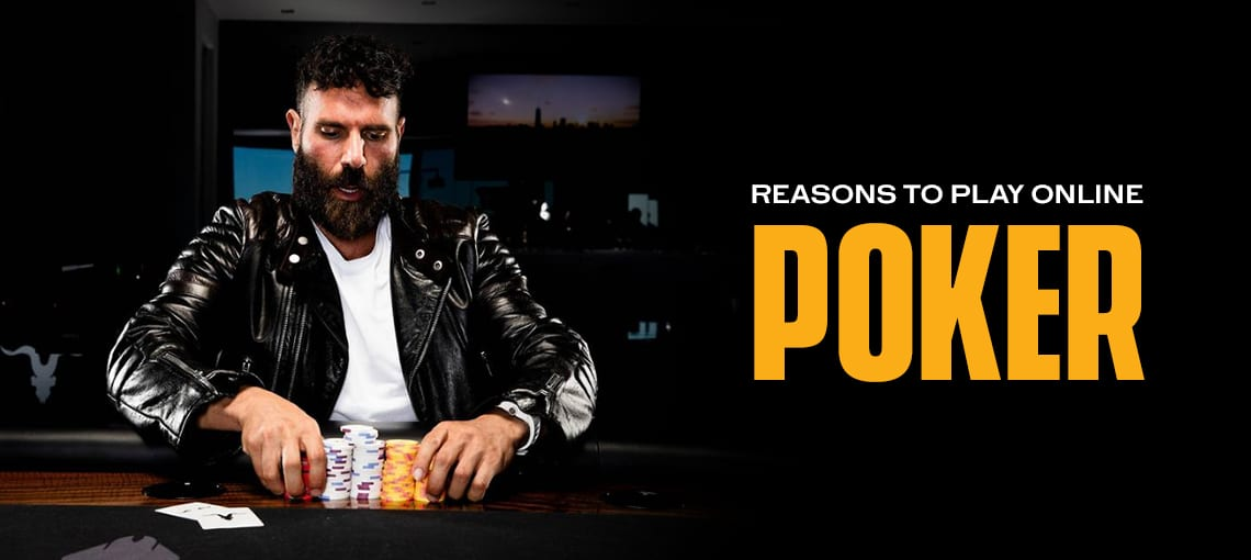 Reasons to Play Online Poker|BLITZPOKER