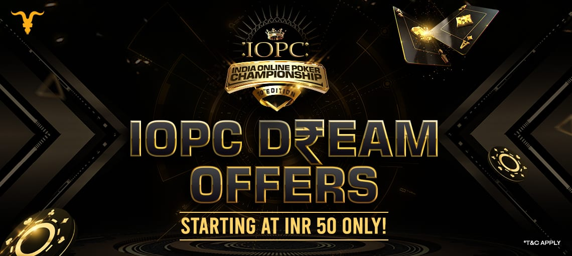 IOPC DREAM OFFER | BLITZPOKER