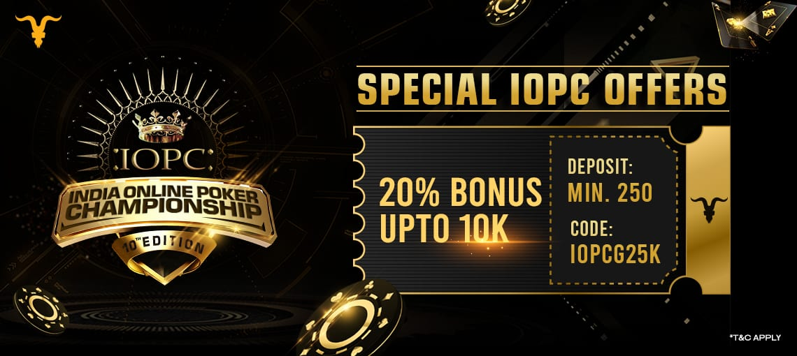 IOPC SPECIAL OFFER | BLITZPOKER
