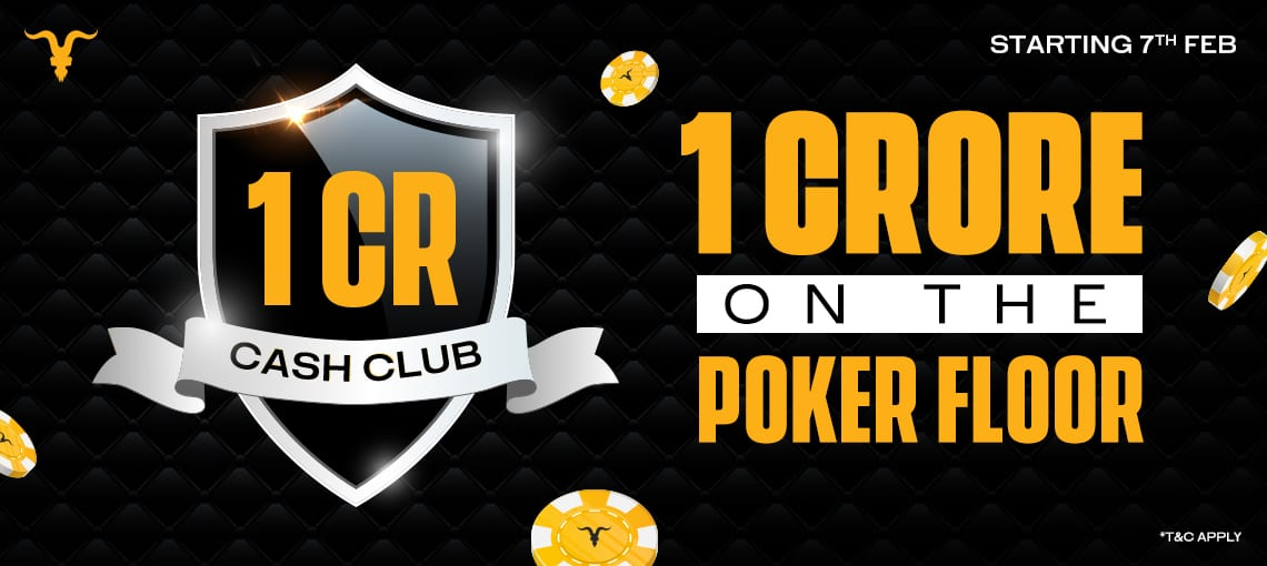 1 CR CASH CLUB | BLITZPOKER