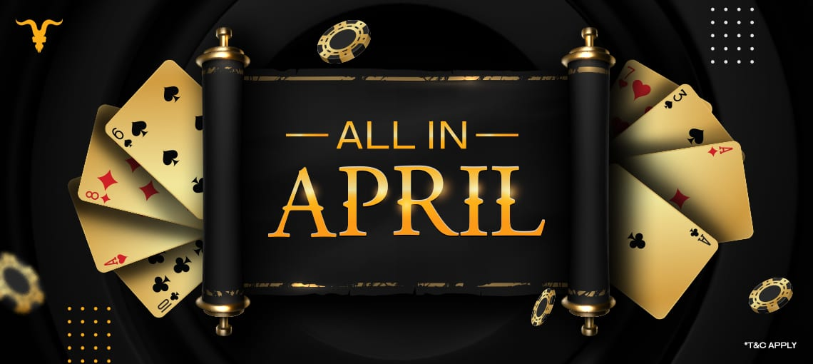 ALL IN APRIL | BLITZPOKER