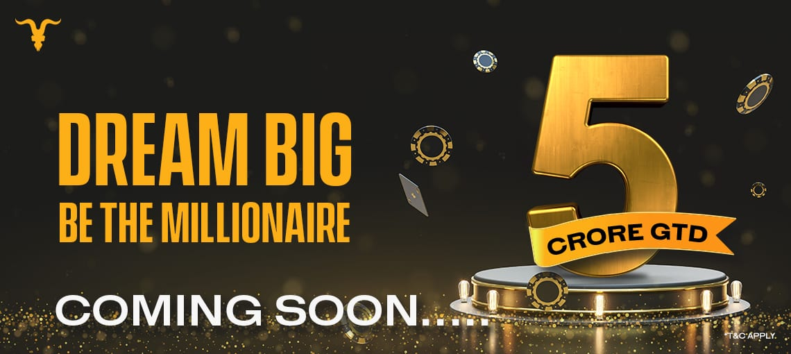 MILLIONAIRE MAY COMING SOON | BLITZPOKER