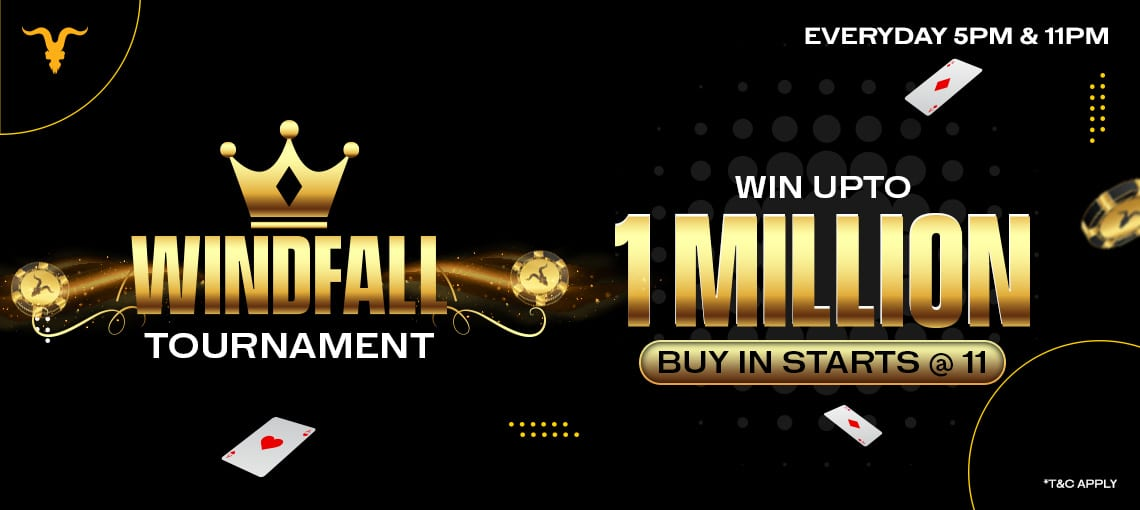 WINDFALL TOURNAMENT | BLITZPOKER