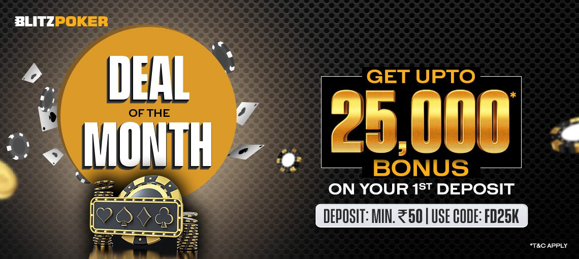 DEAL OF THE MONTH NEW | BLITZPOKER
